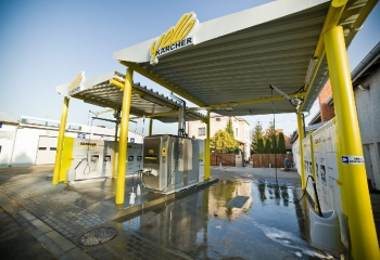 Samoobsługowa myjnia samochodowa Karcher Lubartów Jublewscy